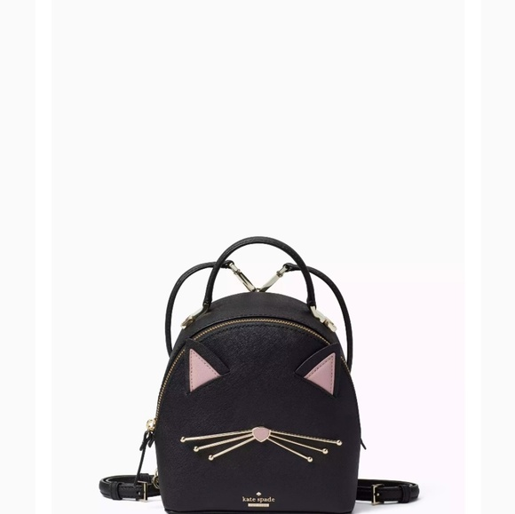 Kate Spade Cat s Meow backpack crossbody bf8e8445c38d4